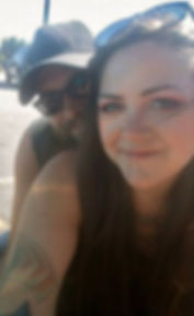 Amberle and Tony Madden hanging out. Comin' Home The Band