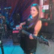 Amberle Madden Rockin' out at 828 Rockfest in Asheville, North Carolina