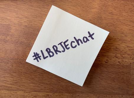 Responding to #LBRJEchat