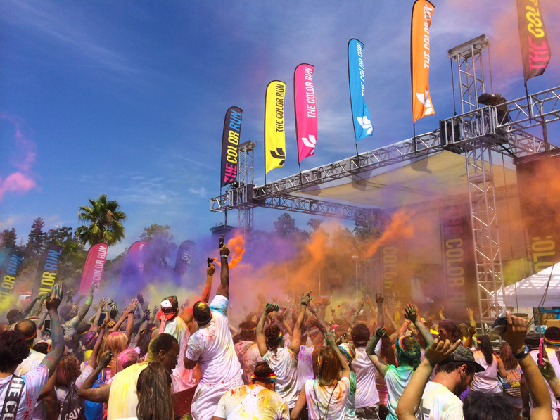 The Color Run LA