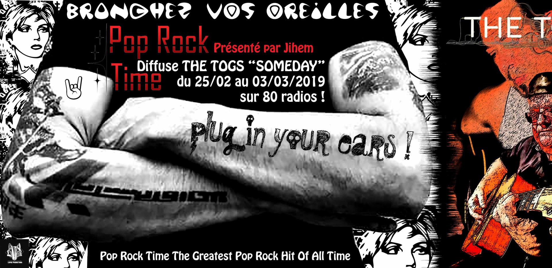 Emission Pop Rock Time I Diffusé par 80 radios