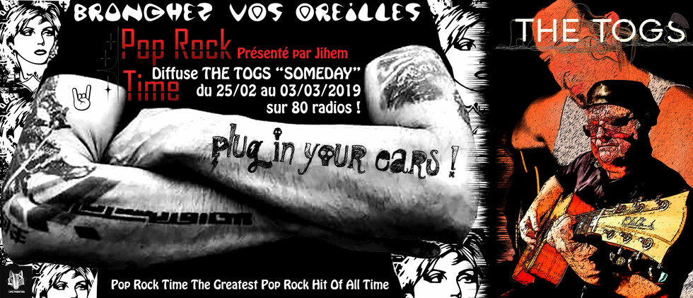 Emission Pop Rock Time I Diffusé par 80 radios