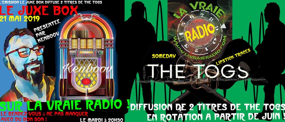 Emission Le Juke-Box I Diffusion par La vraie radio 21/05/2019