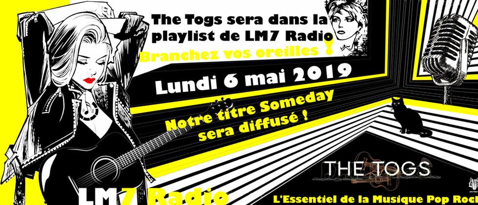 LM7 Radio I En rotation à partir du 6 mai 2019