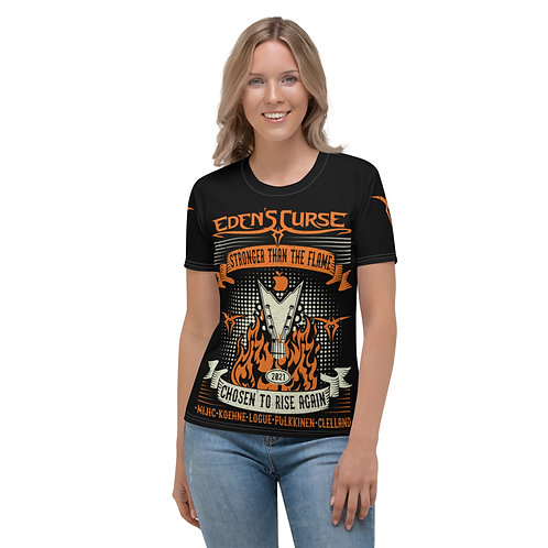 Stronger - Ladies All-Over Print T-Shirt