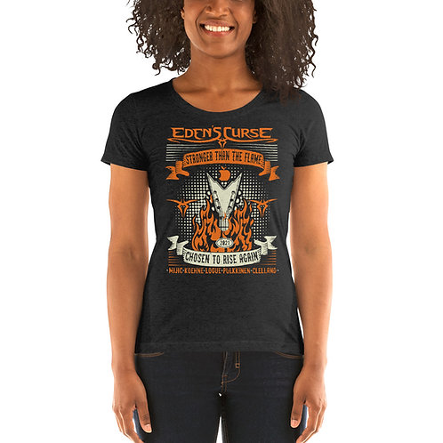 Stronger - Ladies Babydoll T-Shirt