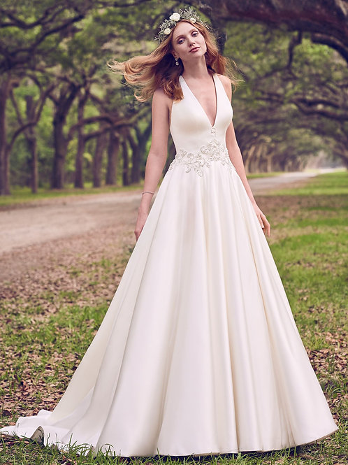 Maggie Sottero Corianne Ivory size 8