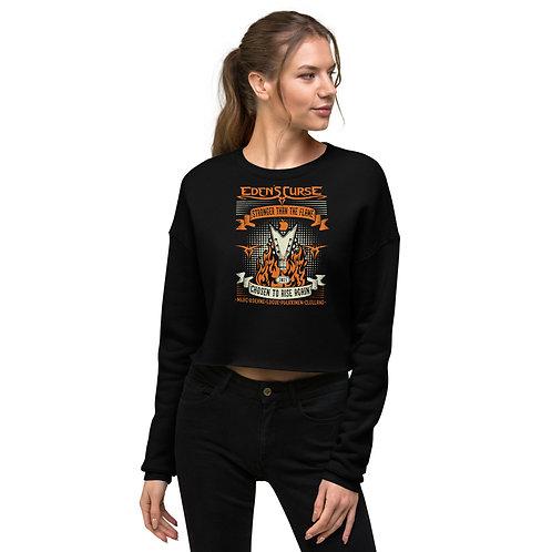 Stronger - Ladies Crop Sweatshirt