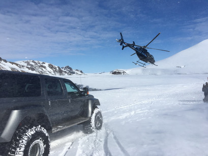 Super Jeep safari in Iceland with IceTour