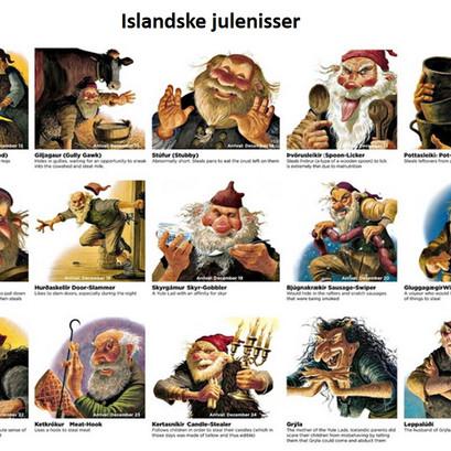 En morsom juletradisjon på Island!