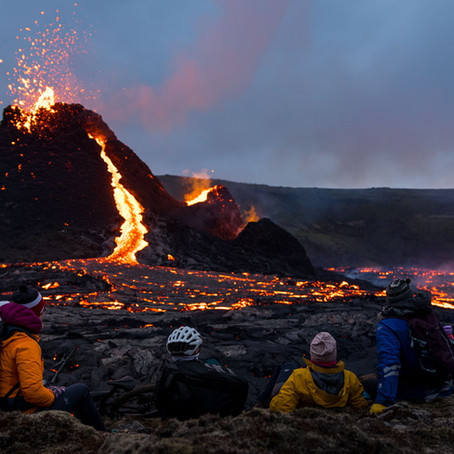 Skjoldvulkan utbrudd på Island