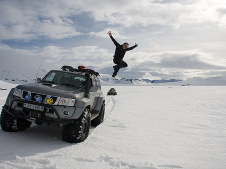 Super Jeep safari på Island med IceTour