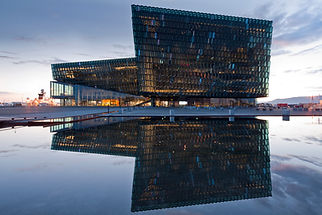Harpa conference hall Reykjavik