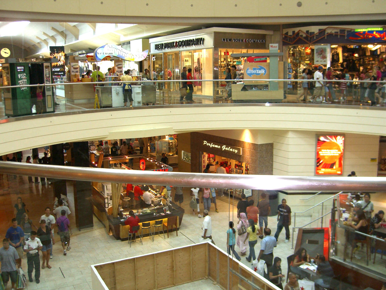 Interior of Westfield Garden State Plaza