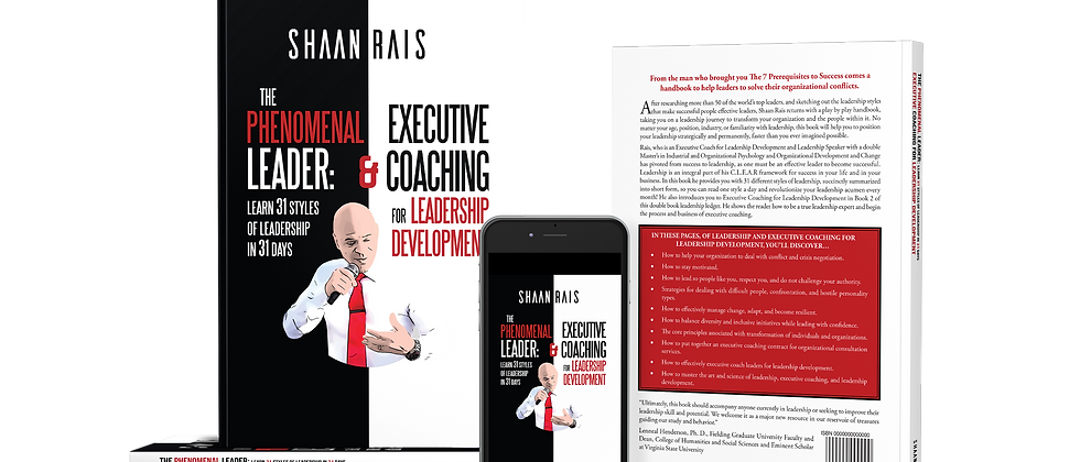 The Phenomenal Leader & An Introduction to Executive Coaching