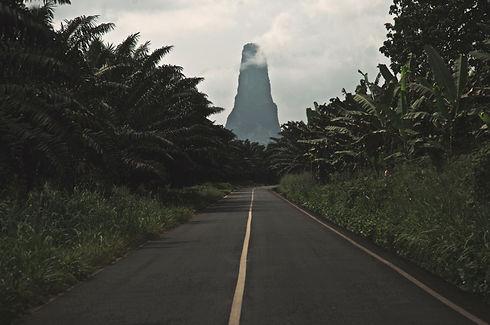 Pico Çao Grande São Tomé