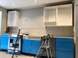 Cupboard Installation