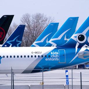 COVID-19: Transat et Air Canada sollicitent Québec