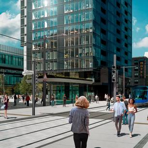 Une nouvelle version du tramway de Québec axée sur les piétons