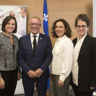 Québec veut plus de femmes dans le milieu manufacturier