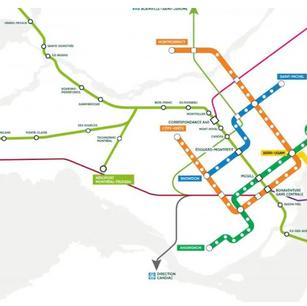 La station du REM de l'aéroport Montréal-Trudeau compromise par la crise