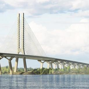 Un an plus tard, encore des travaux à compléter sur le pont Samuel-De Champlain