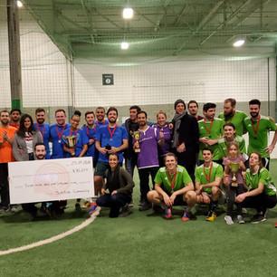 SEZAM Conseil Remporte Le Tournoi De Soccer TechAide 2020