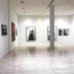 Solo exhibition _Traces_ _alphackartgall