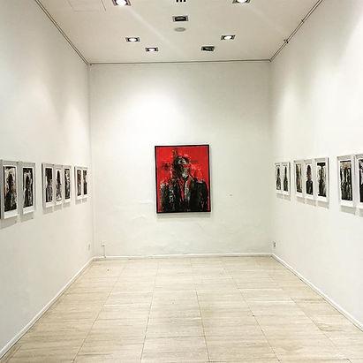 Solo exhibition _Traces__Until April 20t