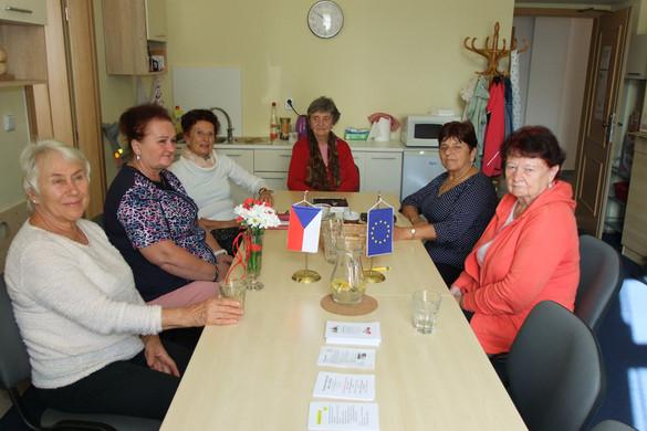 Setkání čtecích babiček