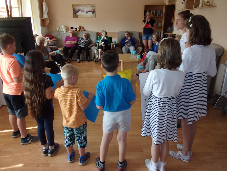 Návštěva odlehčovací služby Charity Vyškov