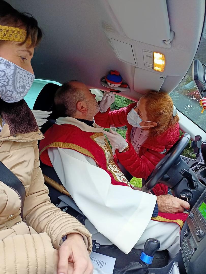 Putování se sv. Mikulášem po starších a osamělých lidech