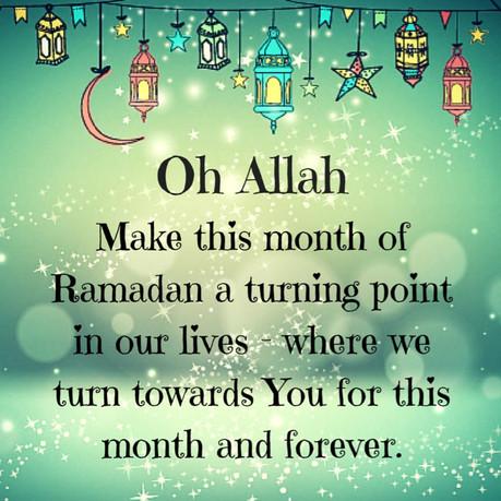 Oh Ramadan!
