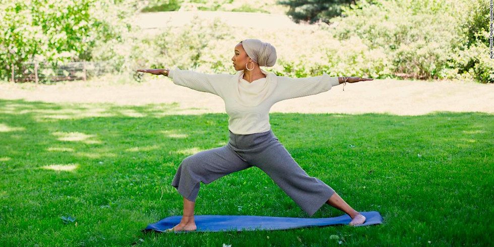 MOVING WITH MOTHERS & NATURE, Outdoor Yoga with Afia Yunus!