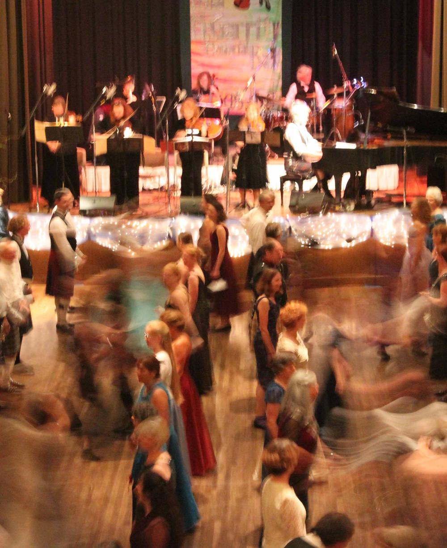 Dancers in Merrill Hall, Asilomar