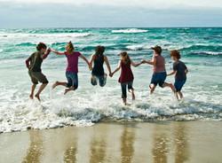 Dancers Asilomar Beach