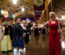 Dancers in Merrill Hall