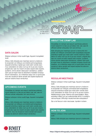 CRIMP Lab (2019)