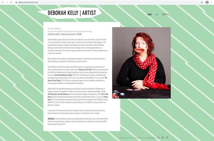 Deborah Kelly (2021)