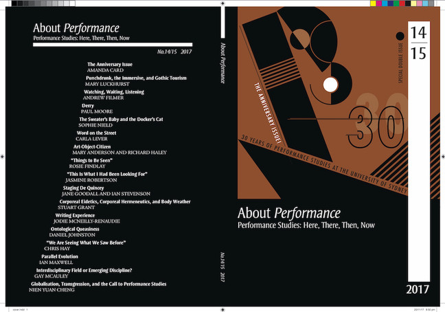 About Performance Issue 14/15 (2017)