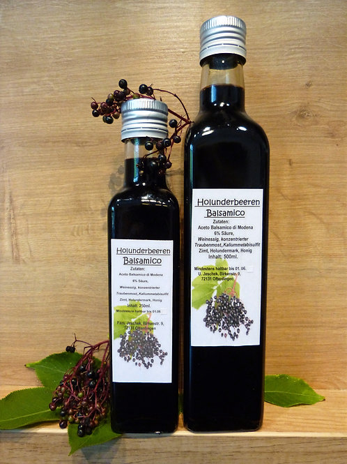 HOLLUNDERBEERE Balsamico klein (250 ml)