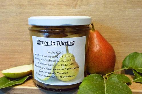 BIRNE in RIESLING (330ml)