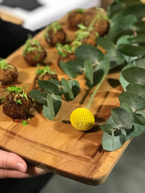 The Braizen Kitchen Canapés Image