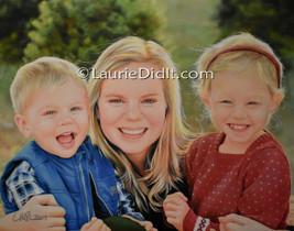 Owen, Chrissi and Allie