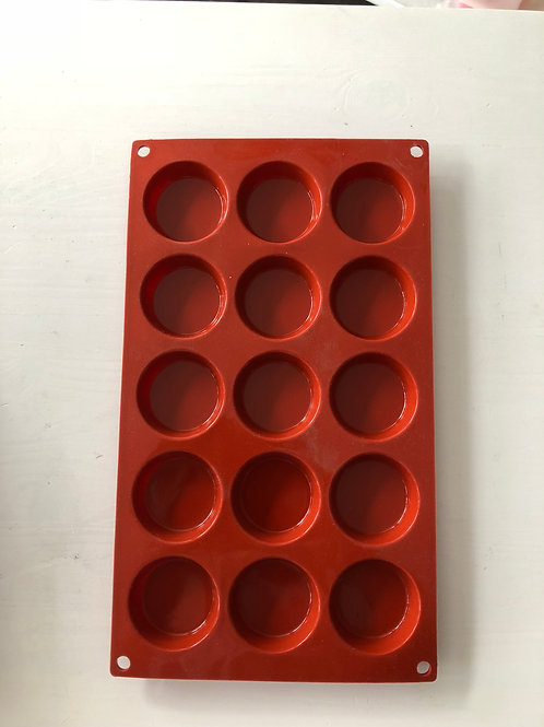 Silicone Bakeware - Round 15 cavity