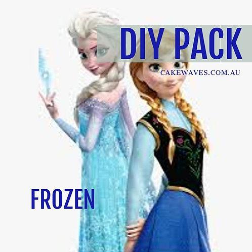 DIY Cupcake Activity Pack - Frozen