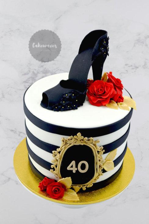 High Heel Lady Shoe Birthday Cake