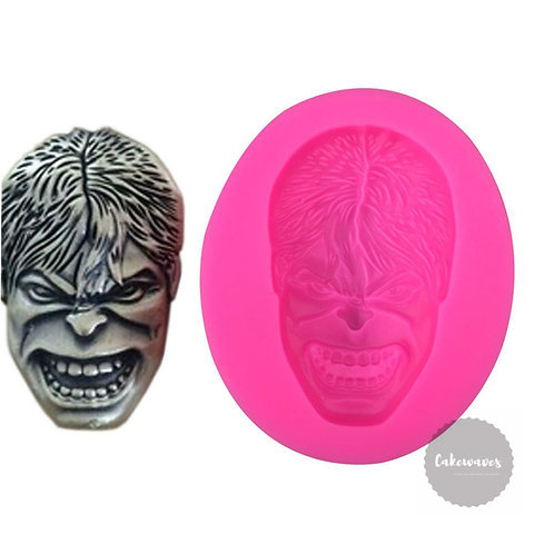 Hulk Face Silicone Mould