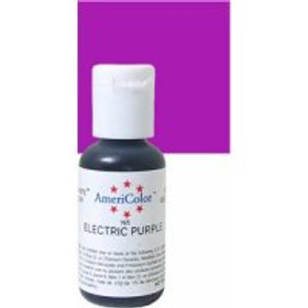 Americolor Food Colouring Gel - Electric Purple 0.75 Oz