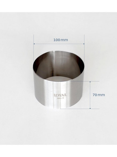 Food Stacker / Ring - 100mm Round